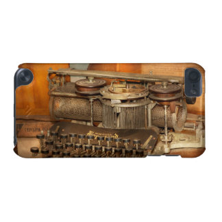 Steampunk - The history of typing iPod Touch 5G Case
