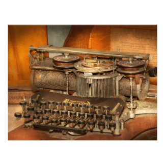 Steampunk - The history of typing Flyers