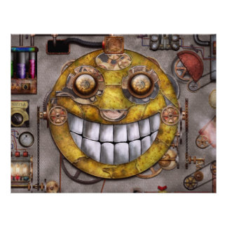 Steampunk - The joy of technology 21.5 Cm X 28 Cm Flyer