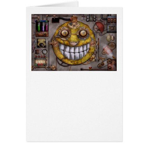 Steampunk - The joy of technology Cards