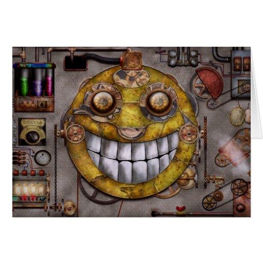 Steampunk - The joy of technology Card