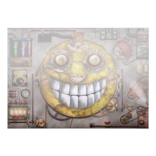 Steampunk - The joy of technology Custom Announcement