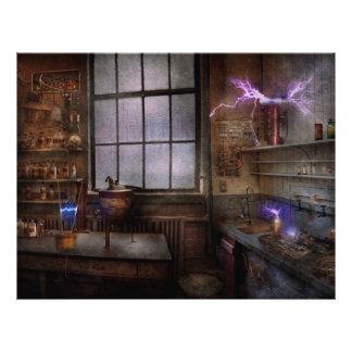 Steampunk - The Mad Scientist Flyer
