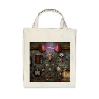 Steampunk - The Modulator Canvas Bags
