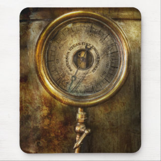 Steampunk - The pressure gauge Mouse Mat