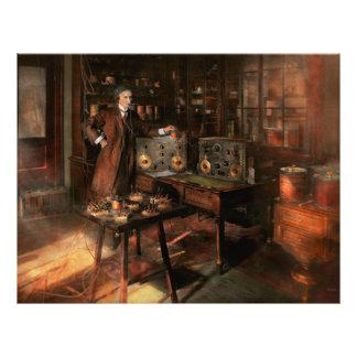 Steampunk - The time traveler 1920 21.5 Cm X 28 Cm Flyer