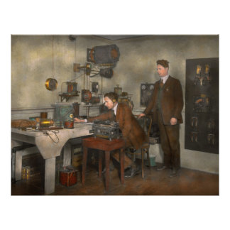 Steampunk - The wireless apparatus - 1905 21.5 Cm X 28 Cm Flyer