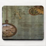 Steampunk Time Machine Mouse Mats