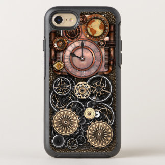 Steampunk Timepiece DeLuxe OtterBox Symmetry iPhone 8/7 Case