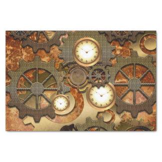 Steampunk Tissue Paper