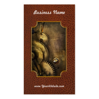Steampunk - Toothy Pack Of Standard Business Cards