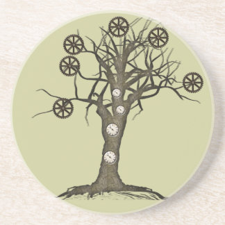 steampunk tree coasters