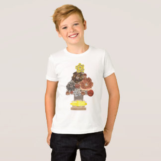 Steampunk Tree No Background Kid's T-Shirt