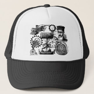 steampunk trucker hat