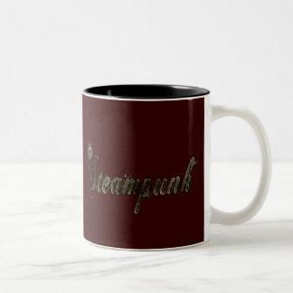 Steampunk Two-Tone Coffee Mug
