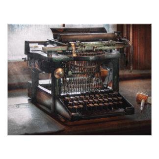 Steampunk - Typewriter - A really old typewriter Flyer