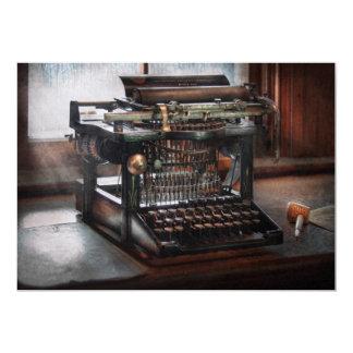 Steampunk - Typewriter - A really old typewriter Invitation