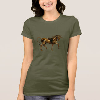 Steampunk Unicorn Sketch Shirt