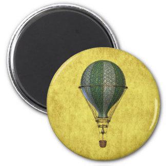 Steampunk Victorian Balloon Magnet