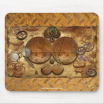 Steampunk Victorian Collage Mousepad Art