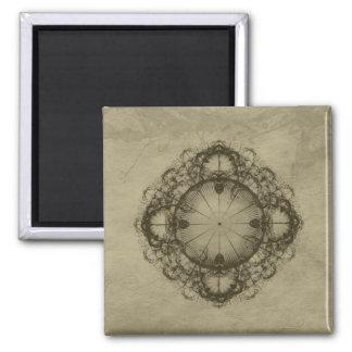 Steampunk Victorian design art Magnet