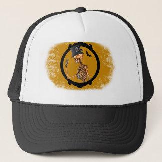 Steampunk Victorian Skeleton 2 Trucker Hat