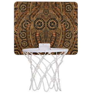 Steampunk  Vintage Kaleidoscope   Basketball Hoops