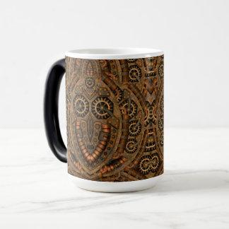 Steampunk Vintage Kaleidoscope Morphing Mug