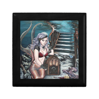 steampunk vintage mermaid where you left me gift box