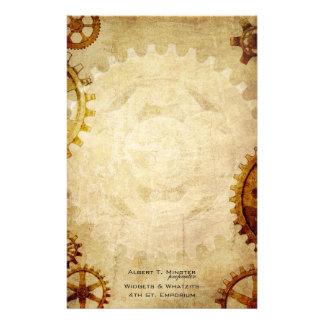 Steampunk Vintage Paper Stationery