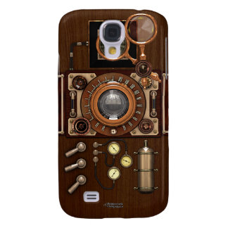 Steampunk Vintage TLR Camera Galaxy S4 Case