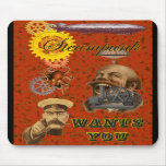 Steampunk ~ Wants You Mouse Pads