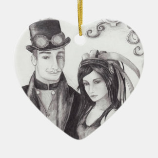 Steampunk Wedding Ornament Steampunk Ornament