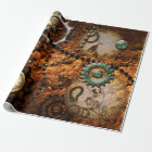 Steampunk Wrapping Paper