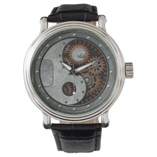 Steampunk Yin Yang Watch
