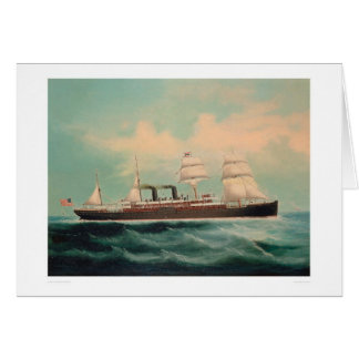 Steamship S.S. China (1614A) Greeting Card