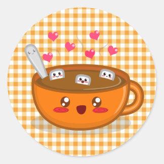 Steamy Hot Chocolate Sticker
