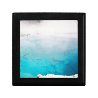 Steamy Hot Springs Small Square Gift Box