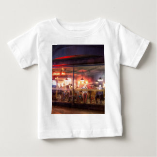 Steamy Shoreditch coffee house, London Baby T-Shirt