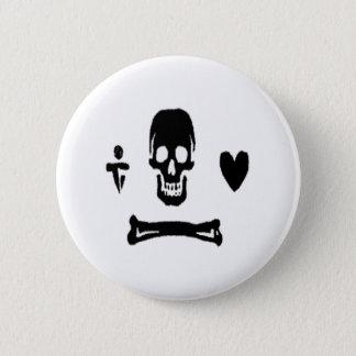 Stede Bonnet-Black 6 Cm Round Badge