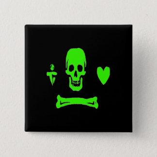 Stede Bonnet-Green 15 Cm Square Badge