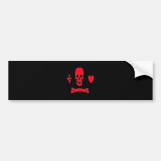 Stede Bonnet-Red Bumper Sticker