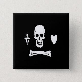 Stede Bonnet-White 15 Cm Square Badge