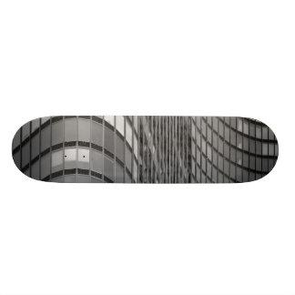 Steel and glass curtain wall of modern 21.6 cm skateboard deck