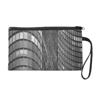 Steel and glass curtain wall of modern wristlet
