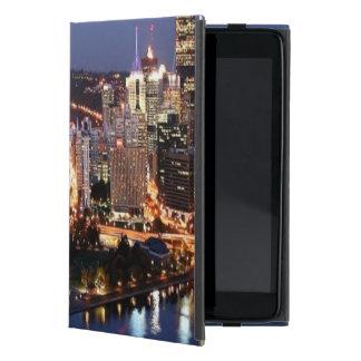 Steel and Indigo Sandwich Case For iPad Mini