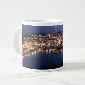 Steel and Indigo Sandwich Giant Coffee Mug