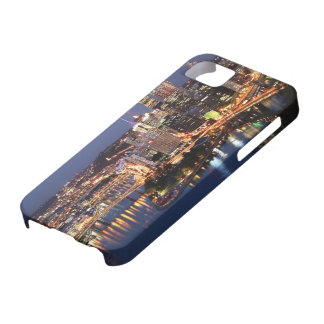 Steel and Indigo Sandwich iPhone 5 Case