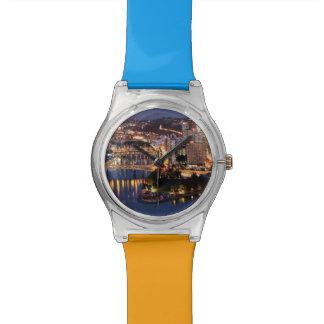 Steel and Indigo Sandwich Watch