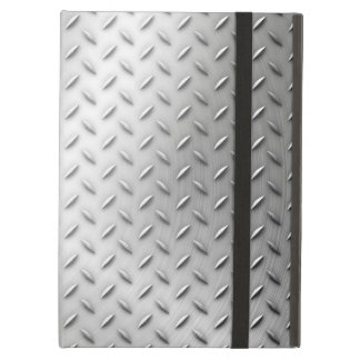 Steel background iPad air cover